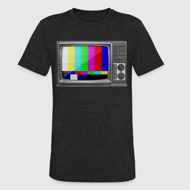 Test Pattern TV - Unisex Tri-Blend T-Shirt