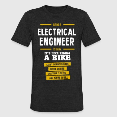 Electrical engineer - Unisex Tri-Blend T-Shirt