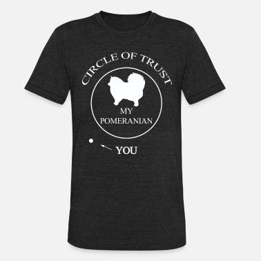 1f5267ab9 Funny Pomeranian Funny Pomeranian Dog - Unisex Tri-Blend T-Shirt