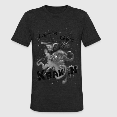 Mountain of strength - Let's get Kraken - Unisex Tri-Blend T-Shirt