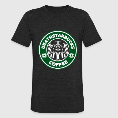 Star Wars fan - Deathstarbucks coffee - Unisex Tri-Blend T-Shirt