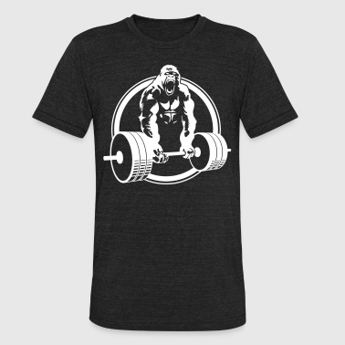 Gorilla Lifting Fitness - Unisex Tri-Blend T-Shirt