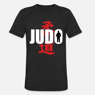 Judo Tournament Judo martial arts fighter Japan defense - Unisex Tri-Blend T-Shirt
