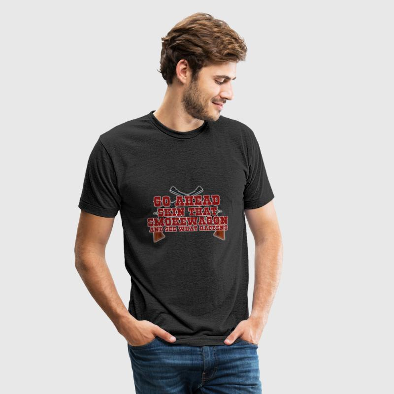 Toombstone Skin that Smokewagon - Unisex Tri-Blend T-Shirt