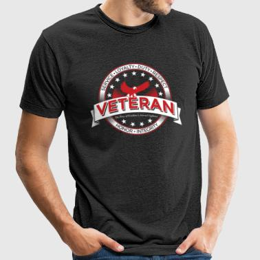 Veteran Soldier Military - Unisex Tri-Blend T-Shirt