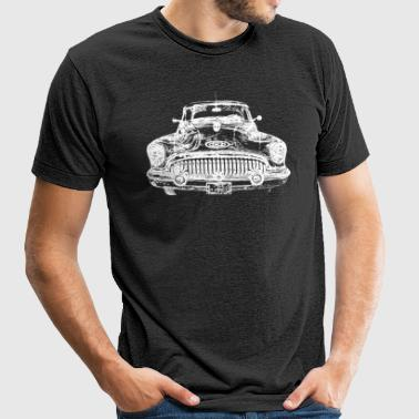 classic US car - Unisex Tri-Blend T-Shirt