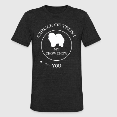 Chow Chow Dog Dogs Funny Chow chow Dog - Unisex Tri-Blend T-Shirt