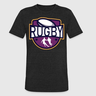 Rugby Christmas Rugby - Unisex Tri-Blend T-Shirt