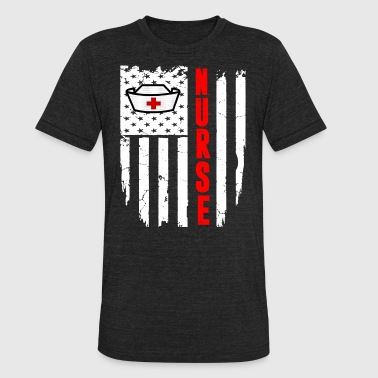 Nurse Flag Nurse Flag - Unisex Tri-Blend T-Shirt