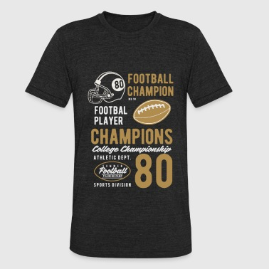 College Football - Unisex Tri-Blend T-Shirt