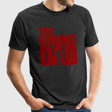 The Hiking Dad / Fear the Walking Dad / Father - Unisex Tri-Blend T-Shirt