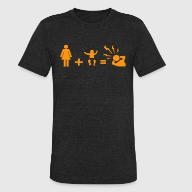 Holiday Family - Unisex Tri-Blend T-Shirt