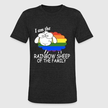 Fucked Some Kids Are Gay i am the rainbow sheep of the family - Unisex Tri-Blend T-Shirt