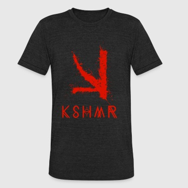 Big Room Music KSHMR (With Name Logo) - Unisex Tri-Blend T-Shirt
