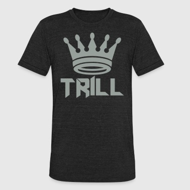(trill_crown_small) - Unisex Tri-Blend T-Shirt