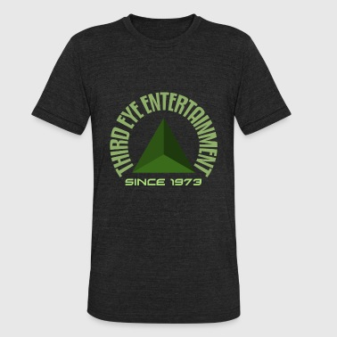 Third Eye Chakra Third eye entertainment green - Unisex Tri-Blend T-Shirt