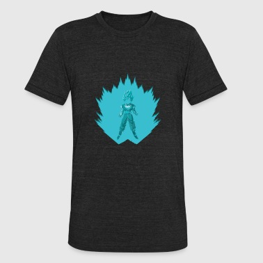 Super Saiyan Blue Goku - Unisex Tri-Blend T-Shirt