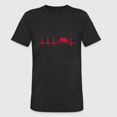 heartbeat theatre actor actress musical cool gift - Unisex Tri-Blend T-Shirt