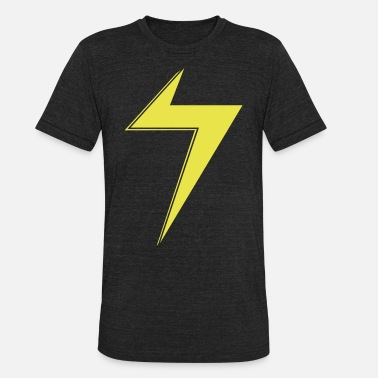 Ms  Ms Marvel Bolt - Unisex Tri-Blend T-Shirt