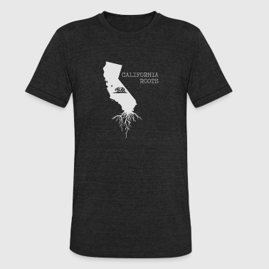 California Roots | State of California - Unisex Tri-Blend T-Shirt