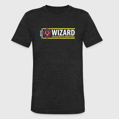 Amtgard Shield Series: Wizard - Unisex Tri-Blend T-Shirt