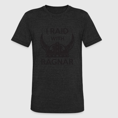 Ragnar - I raid with ragnar - Unisex Tri-Blend T-Shirt