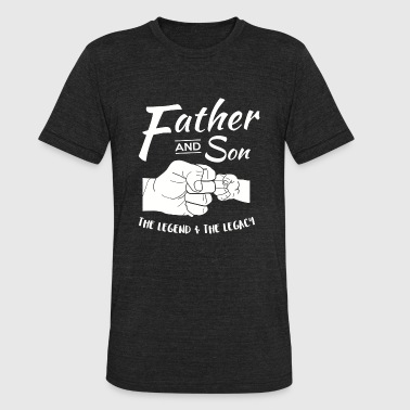 Father and Son - Father and Son Matching outfits - Unisex Tri-Blend T-Shirt