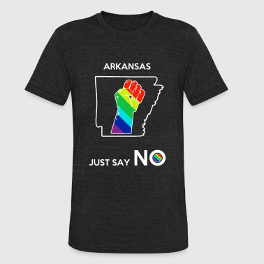 Arkansas - Arkansas -- Just Say No - Unisex Tri-Blend T-Shirt