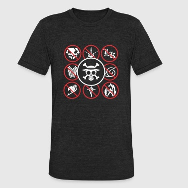 One Piece Skull Skull T-shirt for One piece lover - Unisex Tri-Blend T-Shirt