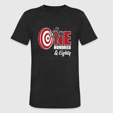 Dart - One hundred - Unisex Tri-Blend T-Shirt