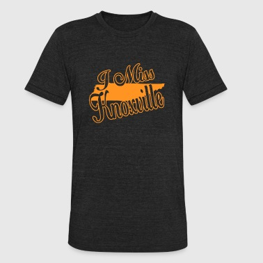 Knoxville Knoxville - i miss knoxville - Unisex Tri-Blend T-Shirt