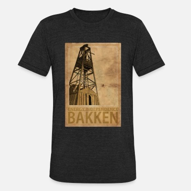 BAKKEN Energy Independenc - Unisex Tri-Blend T-Shirt