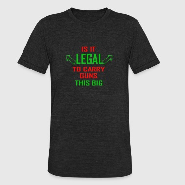 Is It Legal - Unisex Tri-Blend T-Shirt