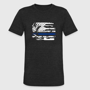 Welder Flag Shirt - Unisex Tri-Blend T-Shirt
