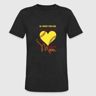 She Kinda Stole My Heart She Calls Me Mom T Shirt - Unisex Tri-Blend T-Shirt