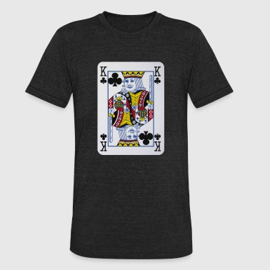 King Clubs Clovers - Unisex Tri-Blend T-Shirt
