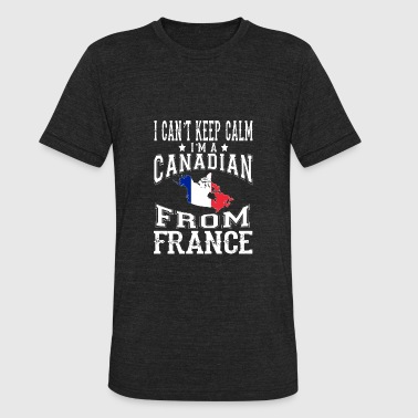 Victoria Frances Canadian from France - I can't keep calm - Unisex Tri-Blend T-Shirt