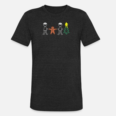 boys christmas christmas boy unisex tri blend t shirt - Christmas Shirts For Boys