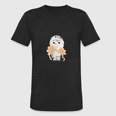 Bandages Halloween Halloween Boy with bandages - Gift Idea - Unisex Tri-Blend T-Shirt