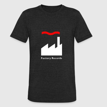 Retro Label Factory Records Retro Record Label Mens Music - Unisex Tri-Blend T-Shirt