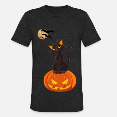 Halloween Hallow Night - Unisex Tri-Blend T-Shirt