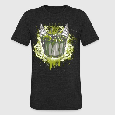 The witches kettle of Baba Yaga - drummers revenge - Unisex Tri-Blend T-Shirt