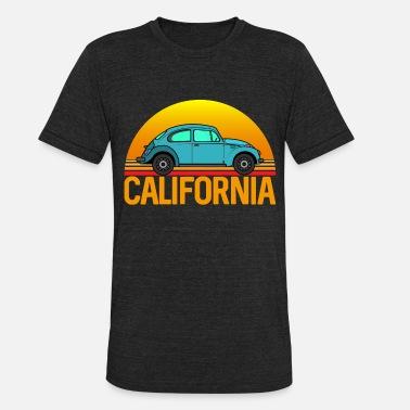 017932e8e1 Venice Beach California Beetle Retro Style - Unisex Tri-Blend T-Shirt