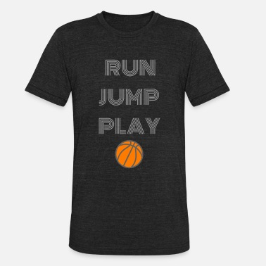 Basketball basketball team Sport basket-laying - Unisex Tri-Blend T-Shirt