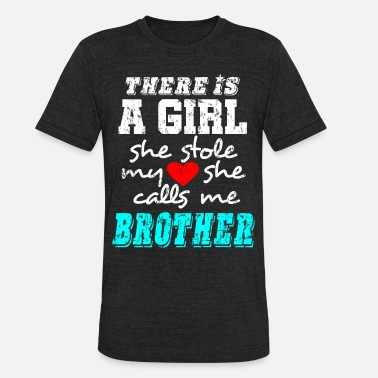 Big Brother Big Brother Girl - Unisex Tri-Blend T-Shirt