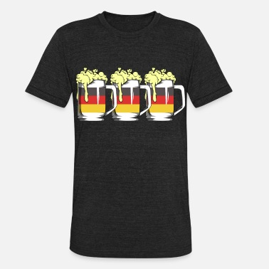 Masskrug German Beer Germany Masskrug Oktoberfest - Unisex Tri-Blend T-Shirt