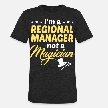 Region Regional Manager - Unisex Tri-Blend T-Shirt