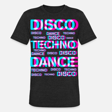 Dj Techno DJ Techno - Unisex Tri-Blend T-Shirt