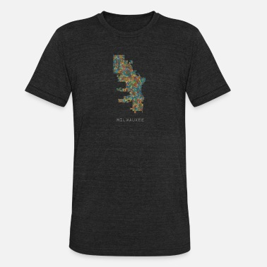 Milwaukee Home milwaukee - Unisex Tri-Blend T-Shirt