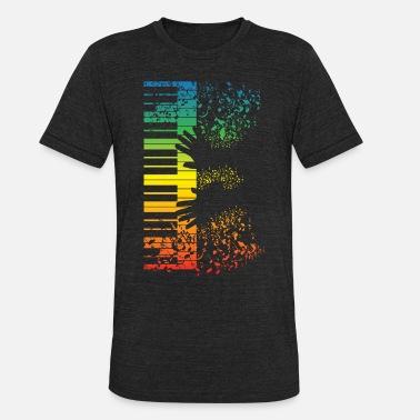 f0452e3c0759 Musical Instrument Keyboard Piano Gift Music Musician Instrument - Unisex  Tri-Blend T-Shirt